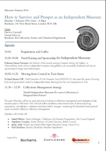 Musuems Seminar Booking Form Image