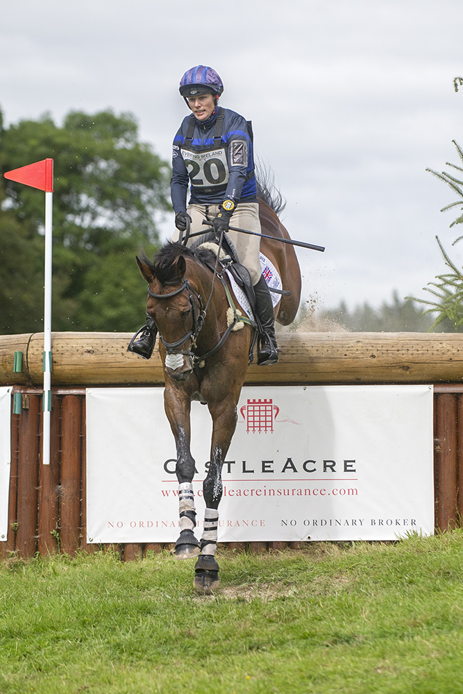 Zara Tindall at Camphire - Picture courtesy of EquusPix