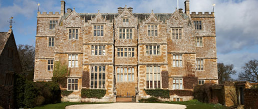A large english country house with listed building insurance