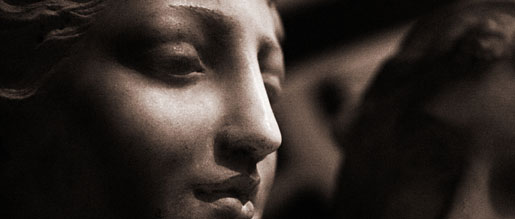 A classical sculpture which is protected by fine art insurance
