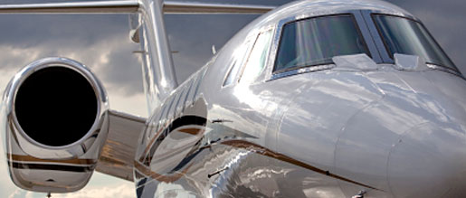 a private european jet which can be protected with private aviation insurance