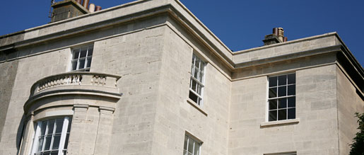A regency listed building protected with tailored listed building insurance